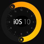 iOS 10 の地味に使える新機能 『時計 ベッドタイム』あとストップウォッチにアナログ表示が登場!